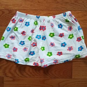 Flowered Shorts